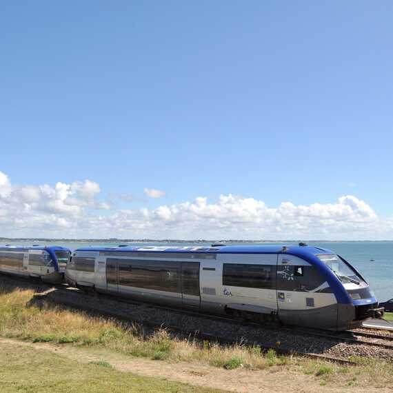 Le Tire bouchon, train qui relie auray à quiberon facilement